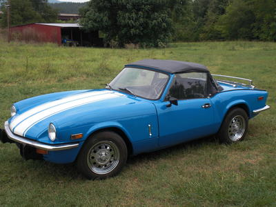 1978 triumph spitfire 1500 fm70927u registry the mg experience. Black Bedroom Furniture Sets. Home Design Ideas