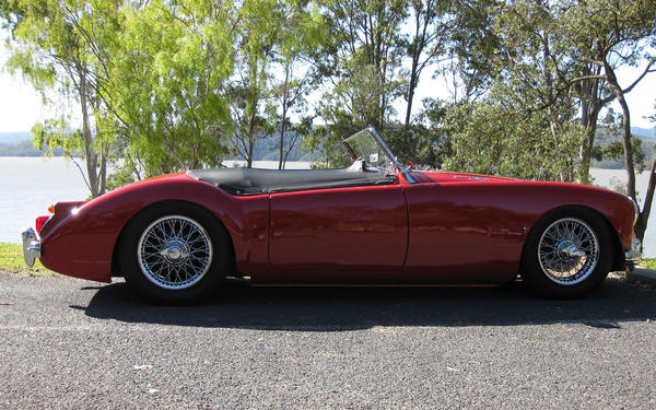 1960 Mg Mga 1600 Littlered Registry The Mg Experience