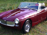 1965 MG Midget MkII Dark Red Rikard S