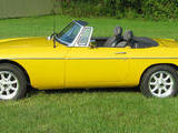 1979 MG MGB Iris Yellow Bill B