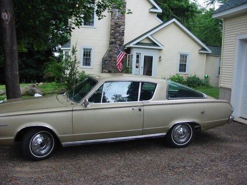 1966 Plymouth Barracuda (273V8) : Registry : The MG Experience