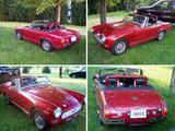 1976 MG Midget Red lynn w
