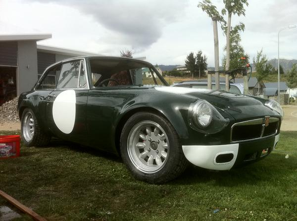 Sell Used Tires >> 1974 MG MGB GT V8 Conversion (FFJGJGG9999) : Registry : The MG Experience