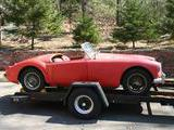 1959 MG MGA 1500 Orient Red Dana R