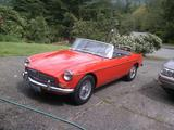 1964 MG MGB Red Rich McManus