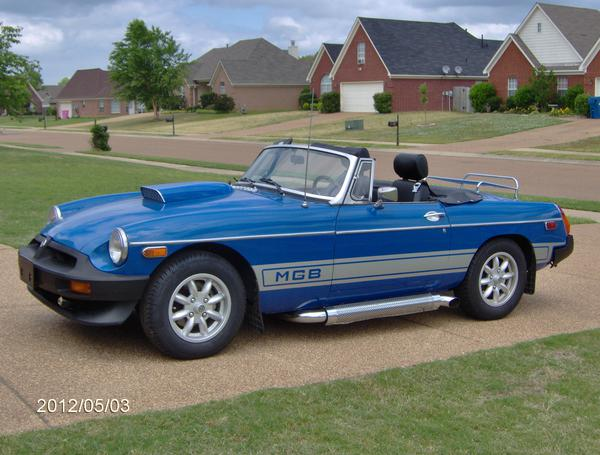 Cool Gold Cars >> 1976 MG MGB (GHN5UG387031G) : Registry : The MG Experience
