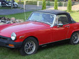 1975 MG Midget Red Cale Thurow