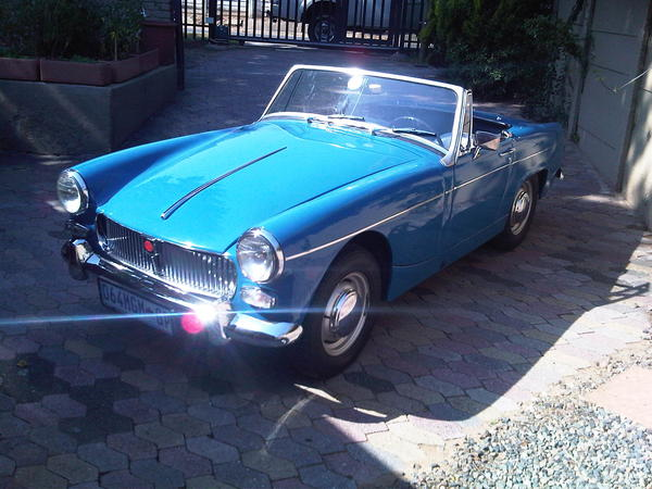 1964 Mg Midget Mkii Gan3l33881 Registry The Mg