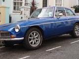 1978 MG MGB GT Electric Trophy Blue Adam Kincaid
