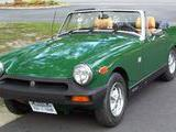 1978 MG Midget MkIII Green paul Maryanna hedge