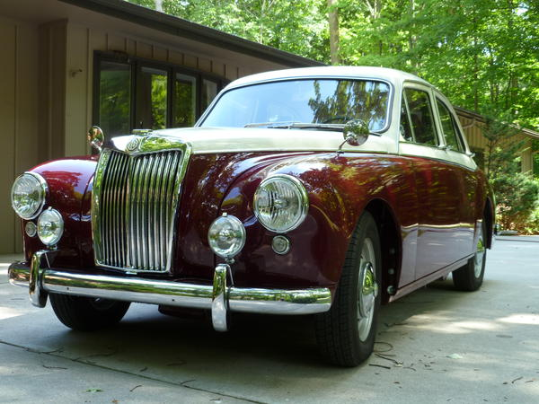 Used Tires Dayton Ohio >> 1958 MG Magnette ZB Varitone (KATT4322988) : Registry ...