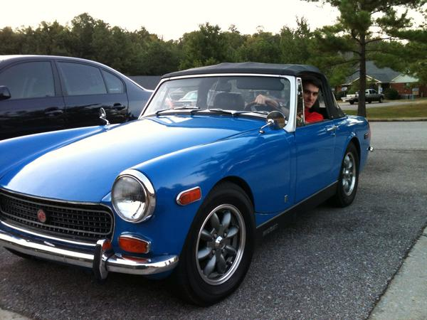 1972 Mg Midget Mkiii Gan5uc113242g Registry The Mg