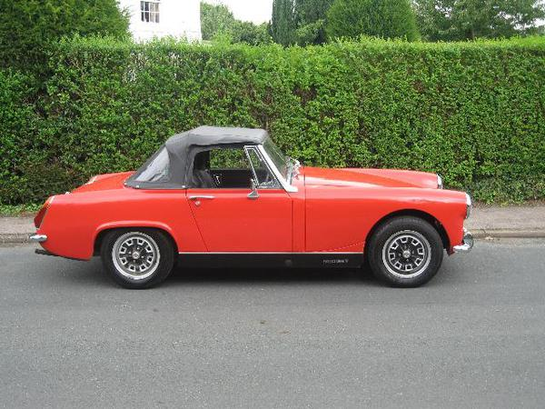 Consider, that Mg midget hardtop for sale remarkable