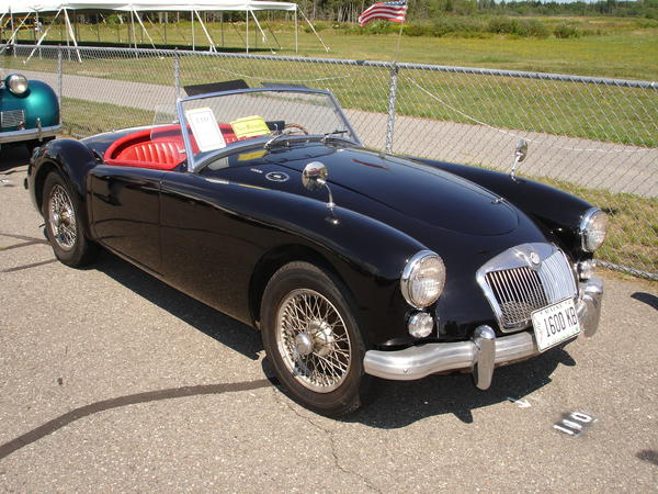 1960 Mg Mga Ghnl92877 Registry The Mg Experience
